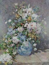 Pierre Auguste Renoir Vintage Art Print Spring Flowers 1964 Kunstkreis Luzern