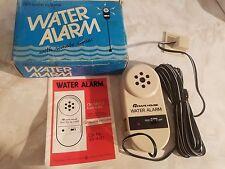 RARE Vintage 49-440 Safe House Water Alarm W/Remote Sensor  49-440 New In Box