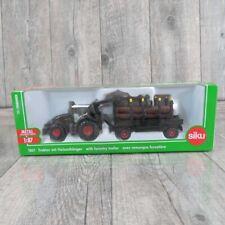 SIKU 1861 - 1:87 - Traktor mit Holzanhänger - OVP -#V29381