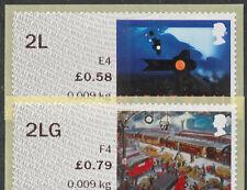 NCR error 2L + 2LG 2nd Class correo de valores abierta OV por ferrocarril errores Post & Go