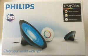 Philips Living Colors Aura LED Lamp - Black  .  Used a few times