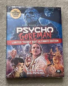 Psycho Goreman Ltd Hunky Boy Ultimate Edition Bluray-Canadian Excl-Slipcover-NEW