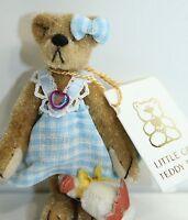 Little Gem Teddy Bear Girl Bear + Duck Stuffed Animal New Display