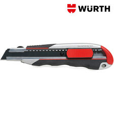 Taglierino Cutter Professionale 170mm con Lama 18mm - WÜRTH
