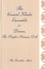 COA ONLY for Casual Khaki Angola Mine FM Diana doll Ensemble Certificate