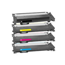 Set of 4 Non OEM Toner For Samsung Xpress CLT404 C430 C430W C480
