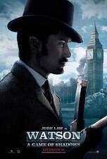 SHERLOCK HOLMES A GAME OF SHADOWS Movie Promo POSTER J Robert Downey Jr.