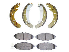DAEWOO MATIZ 800cc 1.0 1998-2005 FRONT BRAKE DISC PADS SET & REAR SHOES SET