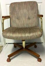 Vintage 1975 CHROMCRAFT CORP.Swivel Tilt Caster Chair - Nice!!