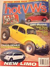Hot VWs Magazine Super Strong Seat Rails December 1999 081717nonrh