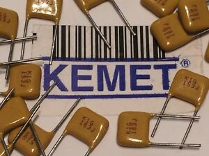 KEMET 100V BEST MULTI LAYER CERAMIC CAPACITORS  ALL VALUES FROM DROP DOWN LIST