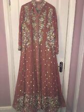 Asian Wedding Dress L beautiful pink