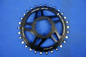 Wolf Tooth 30t Drop-Stop Chainring - SDM Sram Direct Mount - 6mm Offset