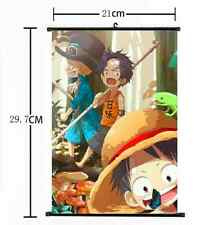 HOT Anime One Piece Wall Poster Scroll Home Decor Cosplay 251