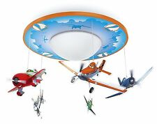 Round Hanging Airplane Ceiling Light Lamp Children Kids Room Lighting Home Decor