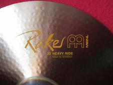 """Meinl Raker 20"""" Heavy Ride Becken - Rock Klassiker aus den 80ern Made in Germany"""