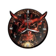 ALCHEMY GOTHIC - Devil - Die Cut Glass - Wanduhr / Wall Clock