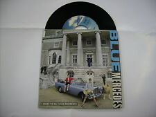 "BLUE MERCEDES - I WANT TO BE YOUR PROPERTY - 7"" VINYL EXCELLENT 1987 ITALY"