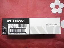 12pcs Zebra SK-0.7mm ball point pen only refill Black(Japan)