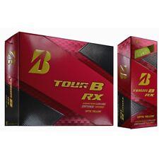 Bridgestone Tour B RX Golf Balls 2018 Optic Yellow 3 Dozen No Logos NEW 9622