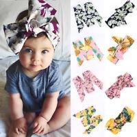 Kids Girls Baby Toddler Turban Knotted Bow Head Band Headband Hair Band Headwear