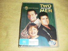 TWO AND A HALF MEN 3 Complete Third Season Three = 4 DVD NEW & SEALED Series R4
