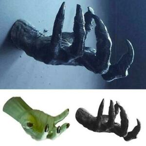 Witch's Hand Art Sculpture Retro Resin Mounts Wall Hangi Statues Aesthetic