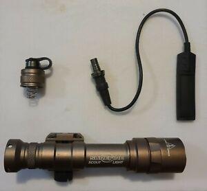 Surefire M600DF Weapon Light Scout Ultra Dual Fuel LED  - Tan