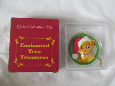 New Lion King Simba Disney Christmas Ornament Grolier Enchanted Tree Treasures