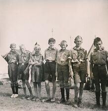 NORVÈGE c. 1950 - Jeunes Garçons Camp de Scouts vers Arendal - P 1463