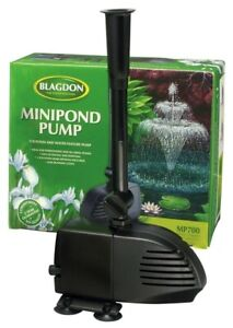 BLAGDON MINI POND PUMP 700 For Small Pond and Water Features. 10m Power Cable