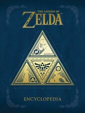 LEGEND OF ZELDA ENCYCLOPEDIA HARDCOVER Video Game Art Reference Comics HC