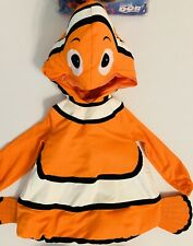 Finding Nemo Disney Plush Halloween Costume Toddler 3-4 3T