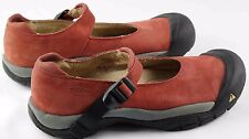 Womens sz 10 Keen Seattle terra cotta nubuck leather mary jane shoes preowned