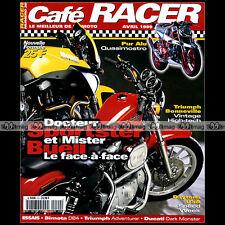 CAFE RACER N°20 HARLEY 1200 SPORTSTER KREIDLER VAN VEEN BUELL X1 BIMOTA DB4 1999
