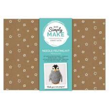 docrafts Simply Make Needle Felting Kit Penguin DSM 106008