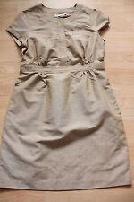 BODEN summer caramel cotton / linen  Weekender  dress  8p petite  NEW