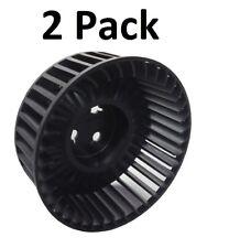 "(2) CAC-1148-1 Air Compressor Fan 4.75"" Fan Craftsman DeVilbiss Porter Cable KK-"