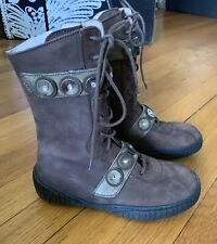 Mod8 Chocolate Brown Leather Boots Size 32 (US 12.5-13)