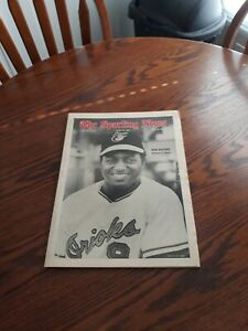 APRIL 19,1969-THE SPORTING NEWS-DON BUFORD OF THE BALTIMORE ORIOLES(MINT)