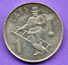 LATVIA LETTLAND 1 LATS 2008 CHIMNEY SWEEP 965