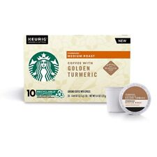 STARBUCKS MEDIUM ROAST K-CUP COFFEE PODS WITH GOLDEN TUMERIC 60 COUNT