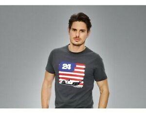 Kids Limited Edition PORSCHE T-shirt Daytona USA Flag With Metal Box Size XS