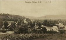 Campton Village NH General View c1910 Real Photo Postcard