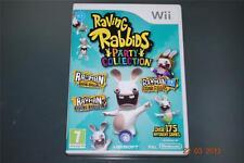 Raving Rabbids Party Collection Nintendo Wii UK PAL **FREE UK POSTAGE**