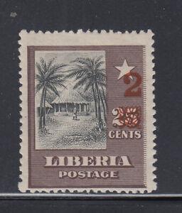 Liberia # 137 1915-16 Surcharge MINT