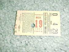 1974 Chicago Cougars v Cleveland Crusaders WHA Hockey Ticket 3/19