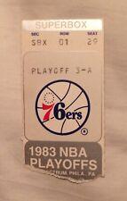 5/8/83 NBA Eastern Conference Finals Game 1 Ticket Stub-Milwaukee Bucks Vs 76ers