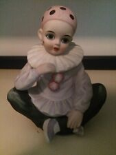 "Vintage Pierrot Musical ""Send in the Clowns"" Figurine Mann Japan"