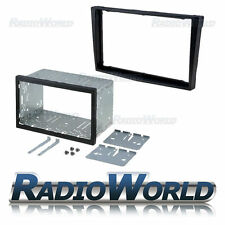 Vauxhall Astra H Black Double Din Fascia Panel Adapter Plate Cage Fitting Kit